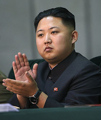Kim Jong Un - unlikely to take an English name anytime soon. Pic by petersnoopy.